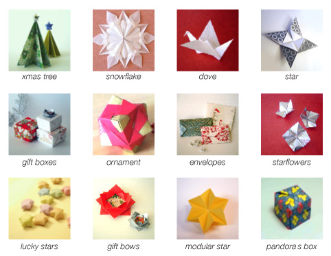 Christmas origami for How to make paper christmas decorations at home