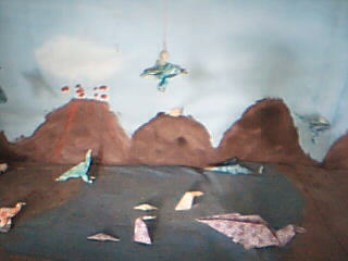 Lake with Archaeopteryx