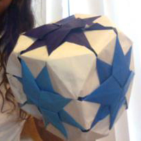 My octagonal origami