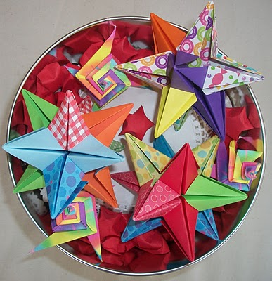 omega stars lucky stars and tomoko fuse origami