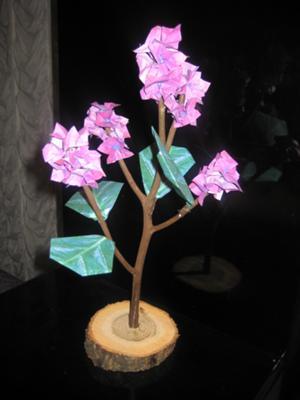 Origami flower decoration mightylinksfo