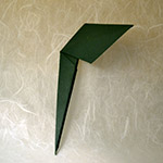 It May Work Well To Use Wire Though Please Try The Origami Leaf First Just Make Quite Big Fit Lilys Point In Pocket