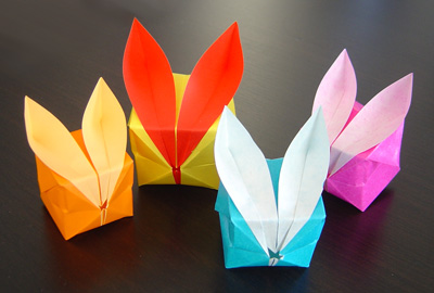 ORIGAMI RABBIT INSTRUCTIONS