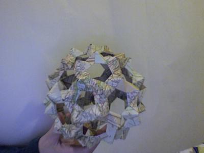 Origami Bucky Ball - YouTube | 300x400