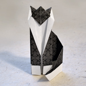 Origami Cat Instructions