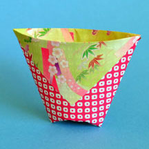 Origami Drinking Cup Instructions