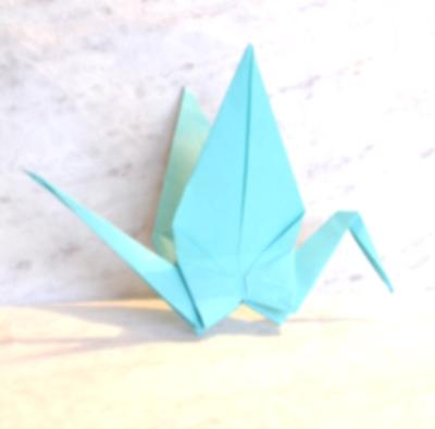 origami cranes and the termination of psychotherapy