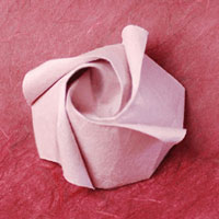 Check Out These Easy Origami Rose Instructions And Easily Make This Beautiful Paper Flower Robyns Is A Simple Version Of An