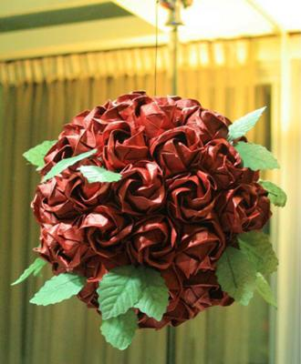 This is the Rose Kusudama